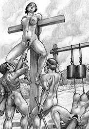 Wait... wait... this cunt is the last one left - Roman crucifixions by Marcus