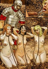 The slaves were buggered five times each - Degradation in Rome by Mr Kane